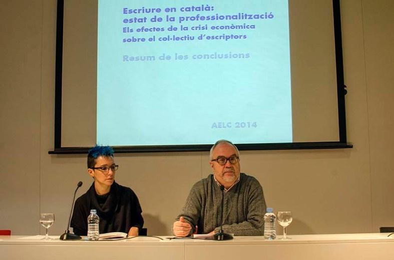 Bel Olid i Guillem-Jordi Graells © Fotografia de Carles
