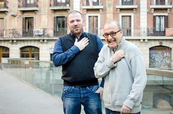 David Martínez Fiol i Joan Esculies. © Fotografia de Carles Domènec