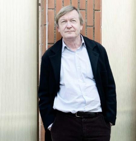 L'escriptor Jean Echenoz a l'Institut Francès de Barcelona. 24 gener 2011. Fotografia de Carles Domènec.