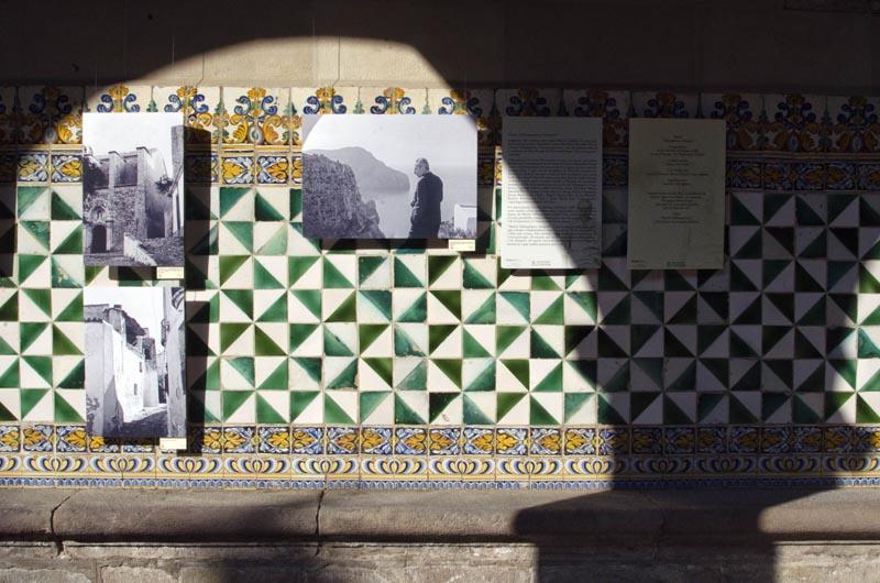 Exposició a la seu de l'IEC amb fotografies i poemes de Marià Villangómez.