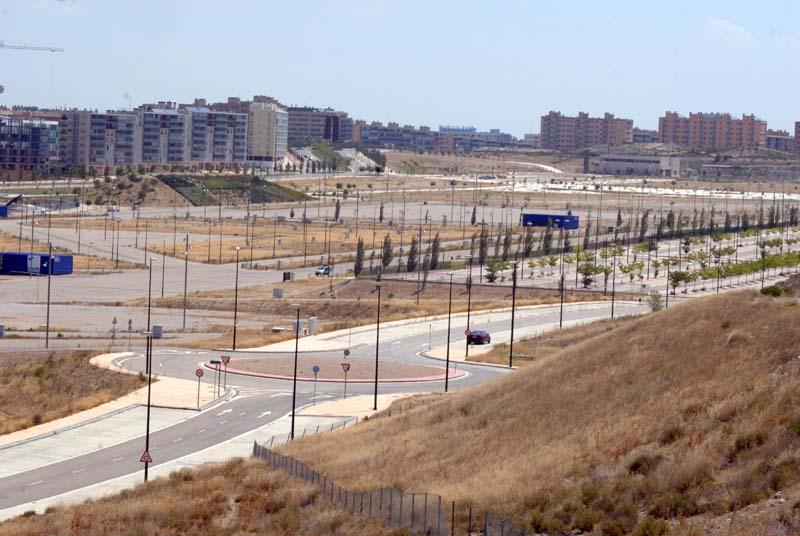 Valdespartera (Saragossa). Barris a mig fer. L'arquitectura absurda de la cris. © Fotografia de Carles Domènec