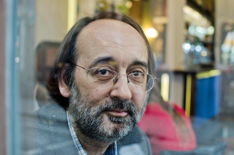 Jaume Benavente al Raval (Barcelona). © Fotografia de Carles Domènec