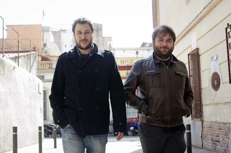 Ramon Mas i Ricard Planas. © Fotografia de Carles Domènec.