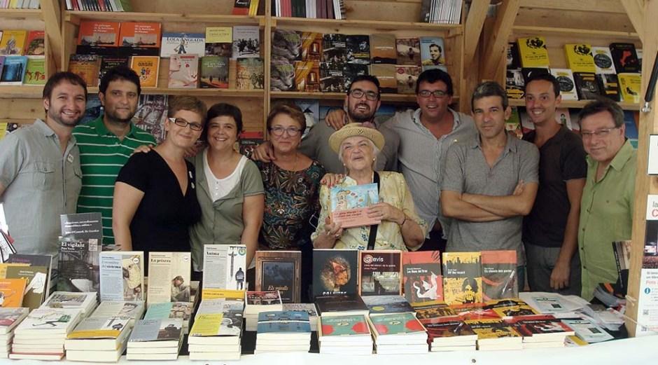 Setmana del Llibre en Català. Barcelona. Fotografia de Sebastià Bennasar.