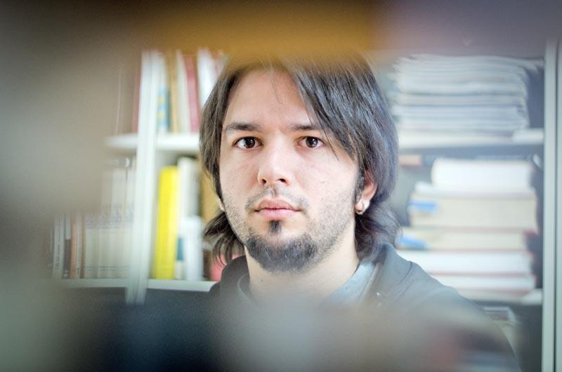 David Aliaga © Fotografia de Carles Domènec.