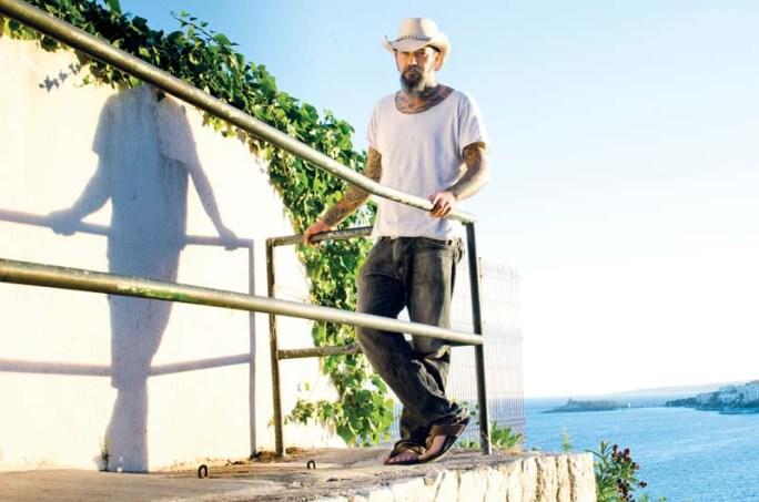 Pep Bonet a Cala Major (Mallorca) © Fotografia de Carles Domènec.