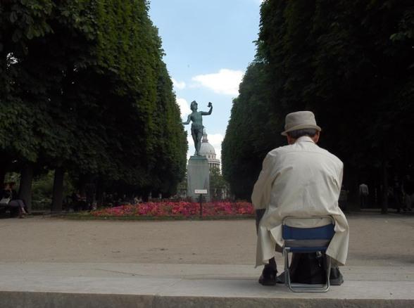 El mite català de París. Jardins de Luxemburg. © Fotografia de Carles Domènec