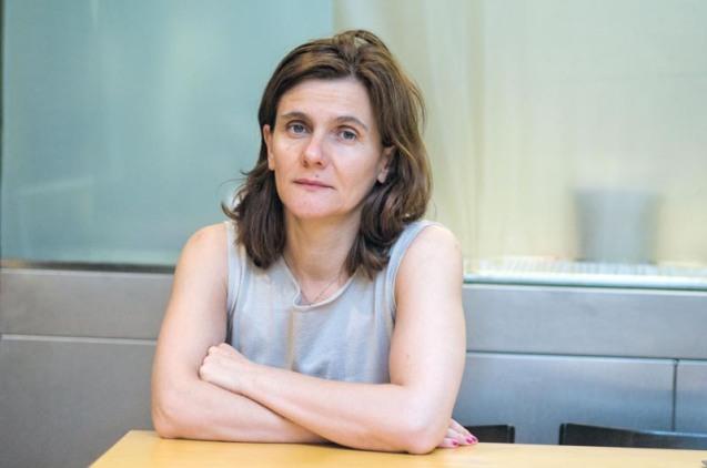 Simona Škrabec a Barcelona © Fotografia de Carles Domènec