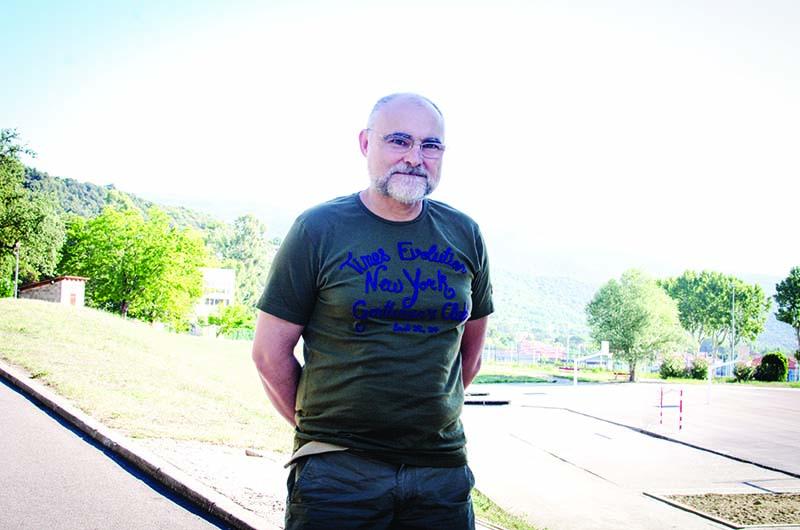Josep Miquel Santacreu a Prada © Fotografia de Carles Domènec