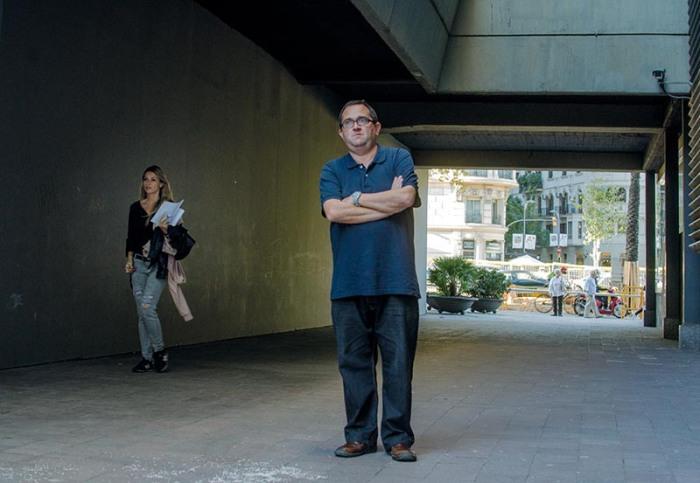 Albert Calls a Barcelona © Fotografia de Carles Domènec.