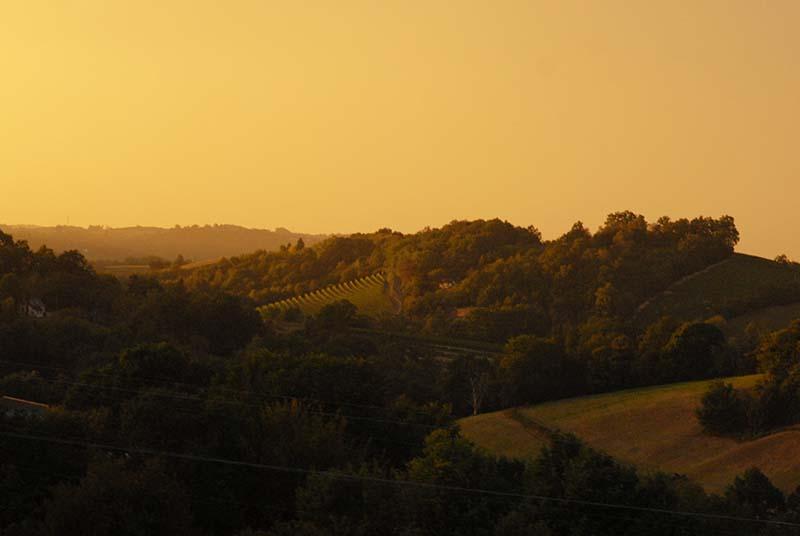 El paisatge de Bearn.  © Fotografia de Carles Domènec