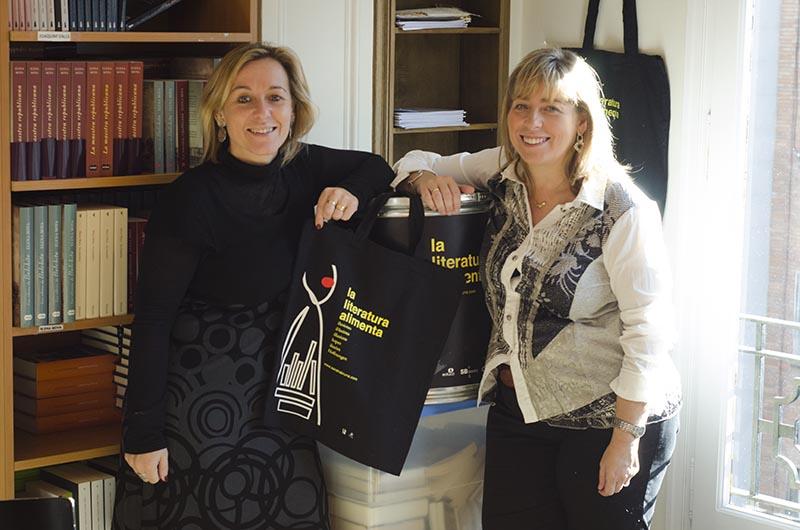 Sandra i Berta Bruna. © Fotografia de Carles Domènec