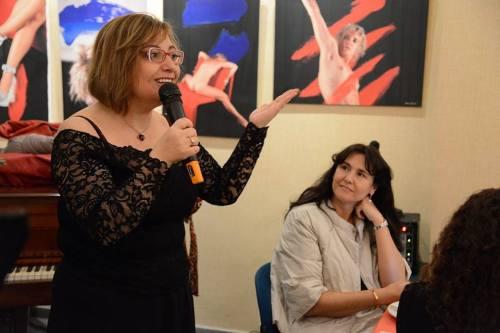 Gemma Pasqual i Laura Borràs. Fotografia de Prats i Camps.