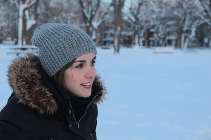 Fotografia cedida per Margalida, feta al Quebec