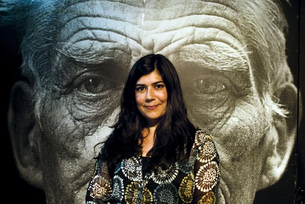 Aina Tur a la Sala Beckett de Barcelona © Fotografia de Carles Domènec