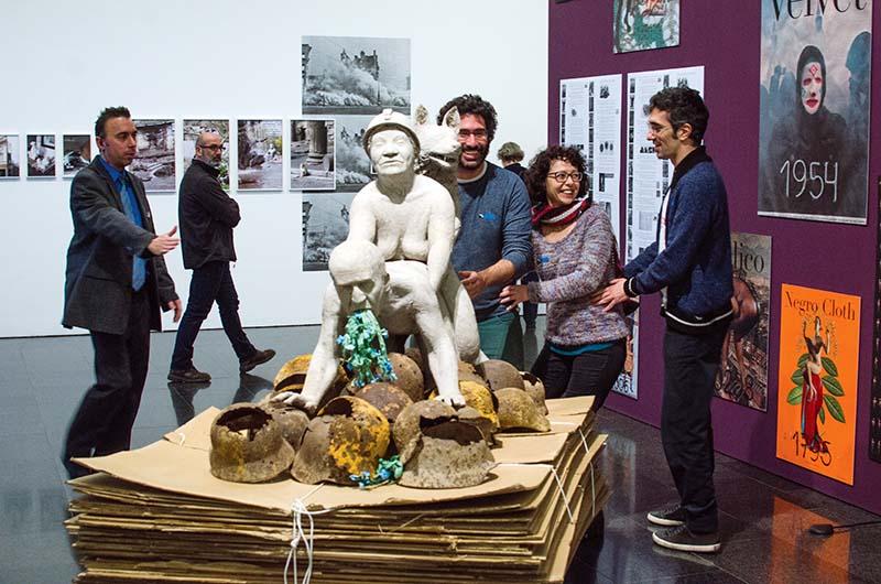 Exposició 'La bèstia i el sobirà al MACBA. © Fotografia de Carles Domènec