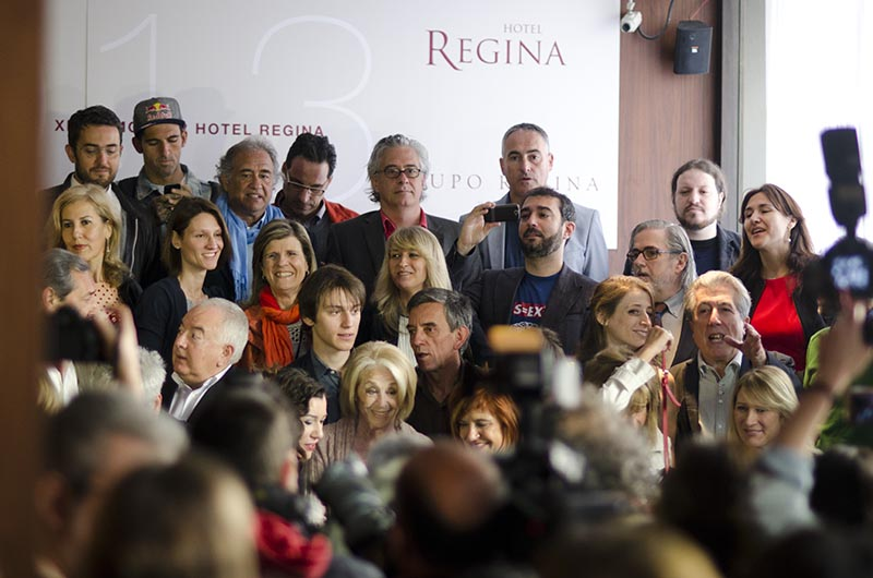 Autors a l'Hotel Regina de Barcelona, Sant Jordi 2014 © Fotografia de Carles Domènec