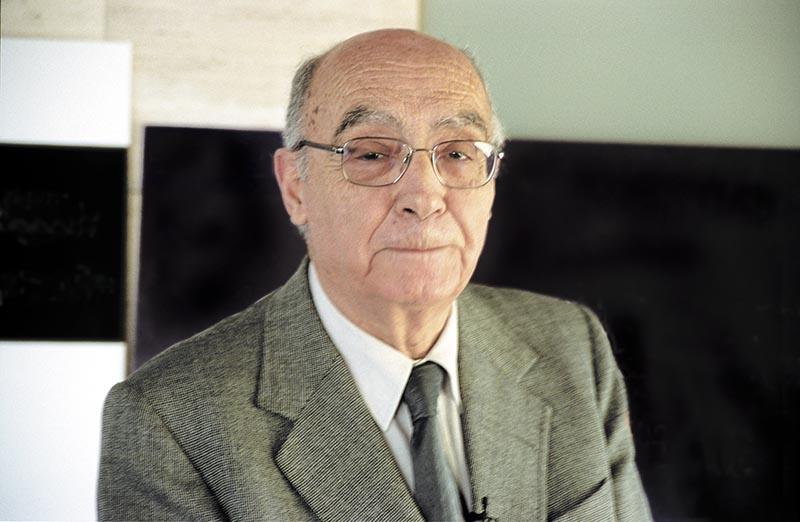 Jose Saramago © Fotografía de Carles Domènec