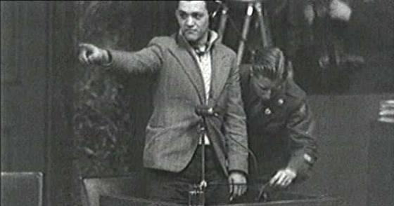 Francesc Boix en el juicio de Núremberg