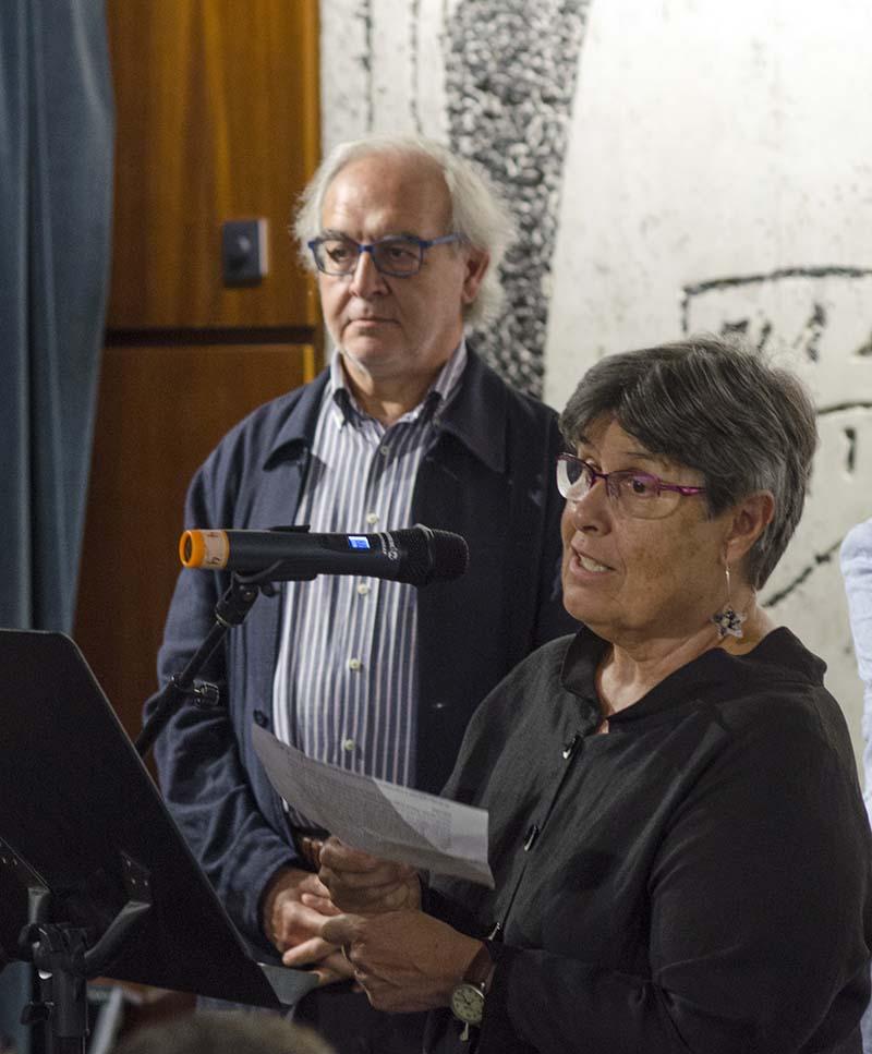 Lluís Bonada, Rosa Maria Piñol. © Fotografia de Carles Domènec