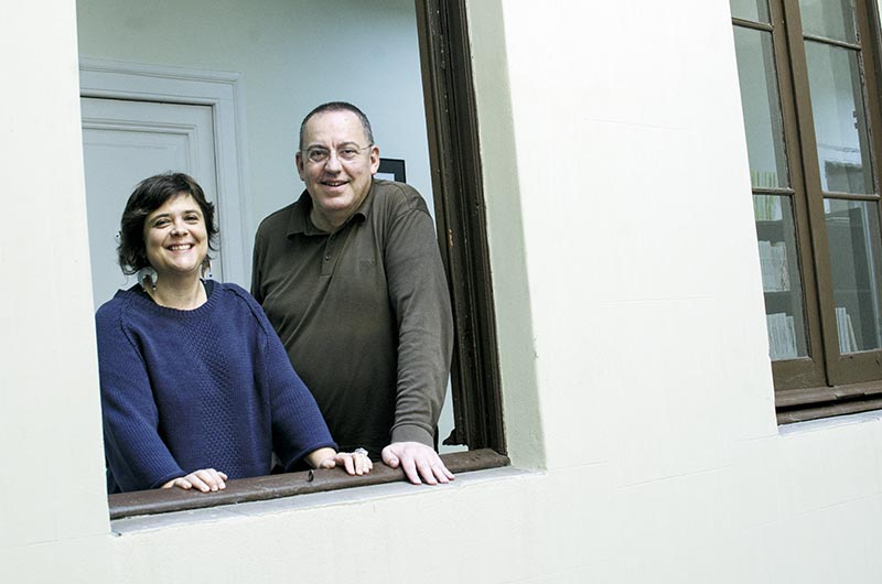 Josep Maria Muñoz i Núria Iceta. Seu de l'Avenç.