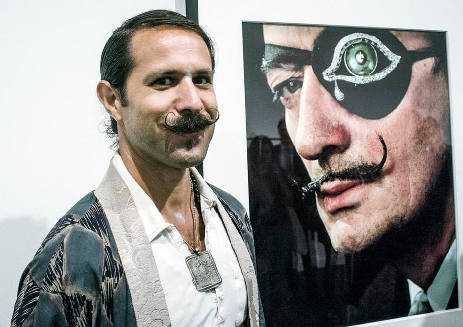 Olivier Halsman, nét de Philip Halsman