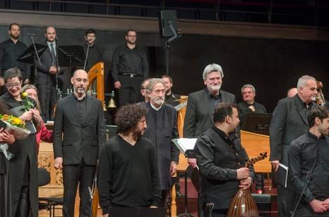Jordi Savall a la Philharmoni de Luxemburg. Fotografia de Carles Domènec