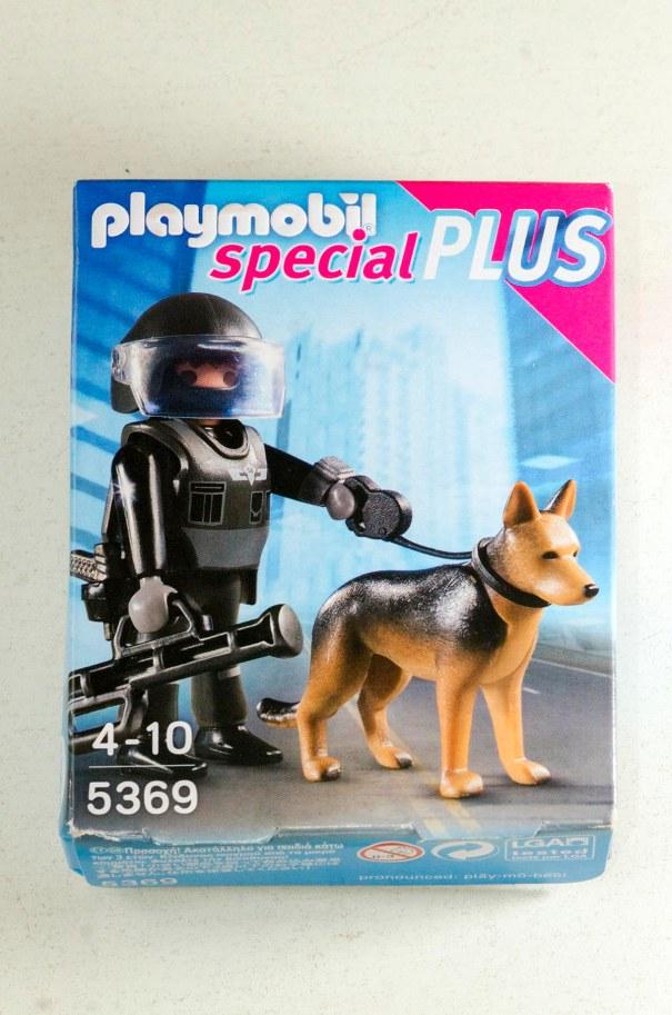 Playmobil comprat al quiosc del Parlament Europeu.