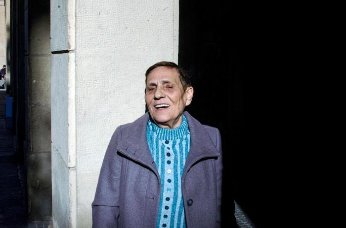 Jana Matei. Fotografia de Carles Domènec feta a Barcelona (novembre 2017).