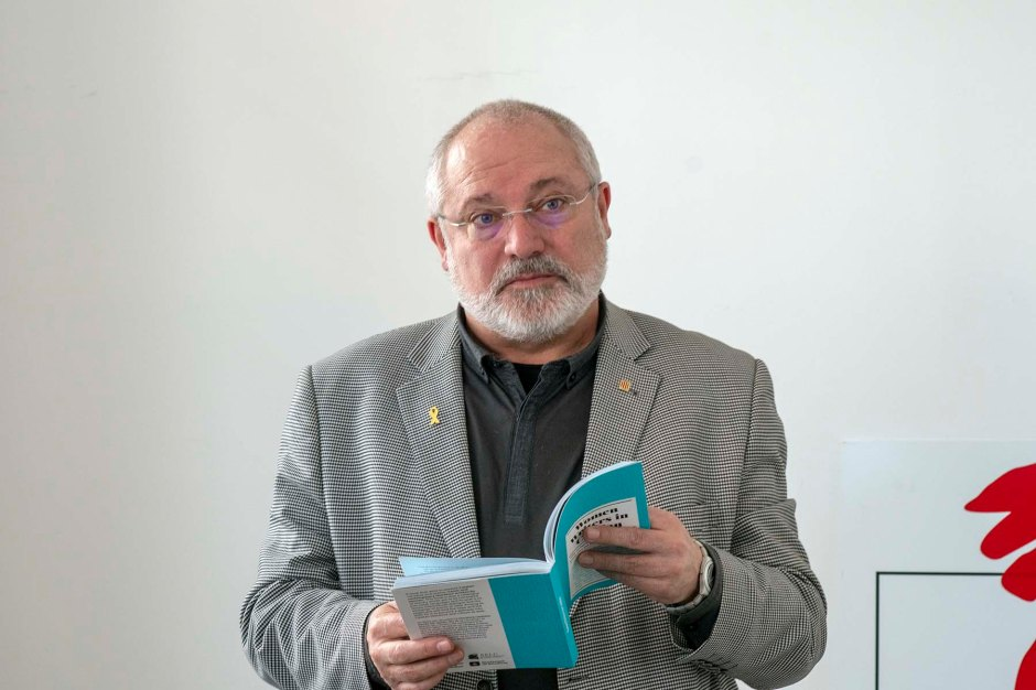 L'exconseller de Cultura, Lluís Puig, al Centre Català de Brussel·les